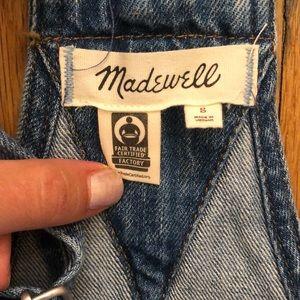 Madewell Jeans - Madewell denim overalls